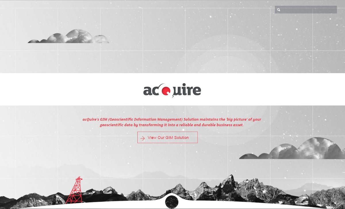 AcQuire Geoscientific Information Management
